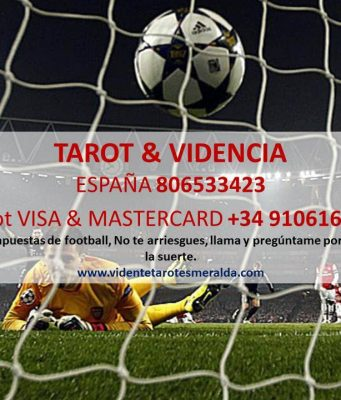 Resultados de fútbol según el tarot