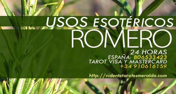 propiedades esotéricas del Romero y su uso para quemas o como incienso.