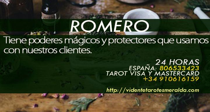 propiedades esotéricas del Romero