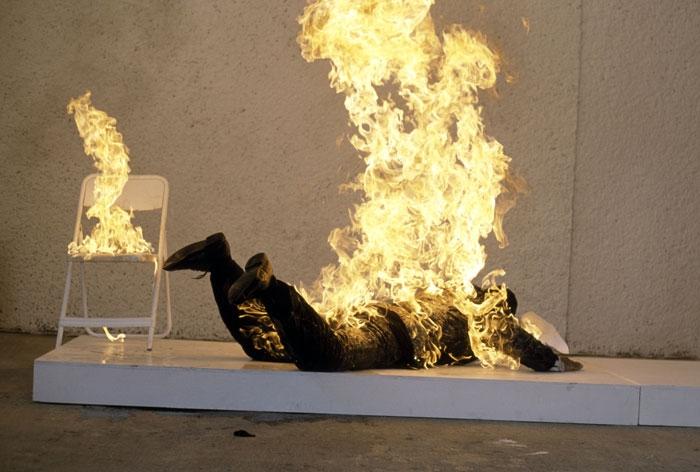 Combustión humana