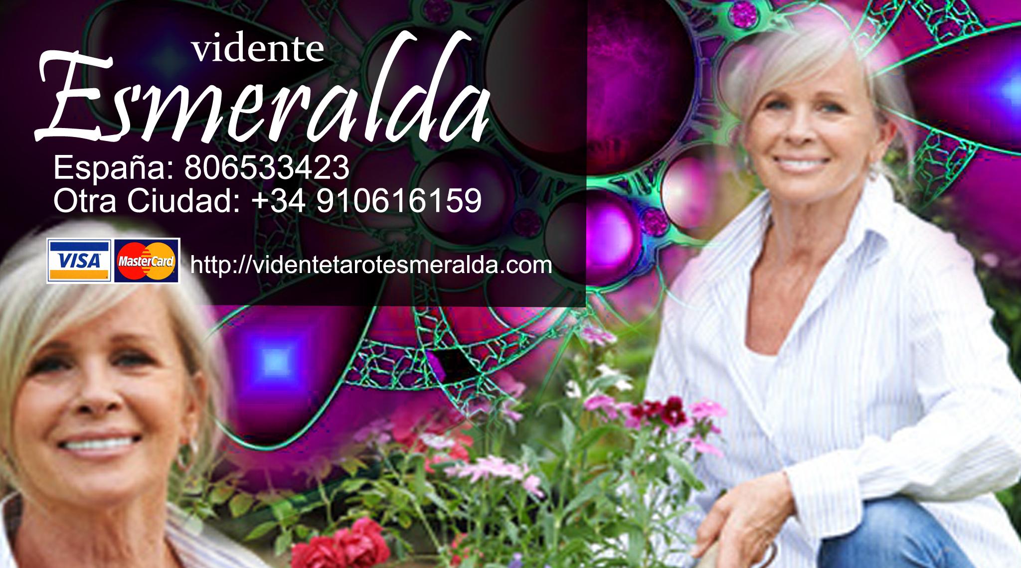 Esmeralda Llanos Tarot ✅ Vidente esmeralda ☎ opiniones teléfono