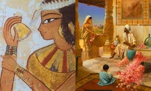 usos en el antiguo egipcio del azafrán