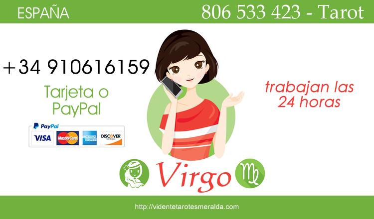 Horóscopo Virgo hoy ofrecido diariamente gratis por Esmeralda