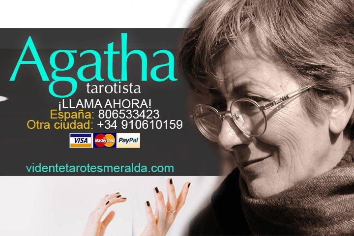 Tarot sin secretos opiniones y teléfono de la Vidente Agatha tarotista